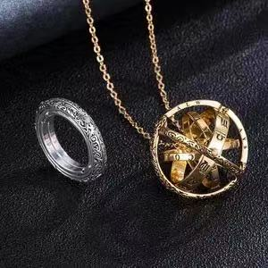 ASTRONOMICAL RING NECKLACE JOMELODY