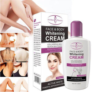 BLEACHING BODY & FACE WHITENING CREAM