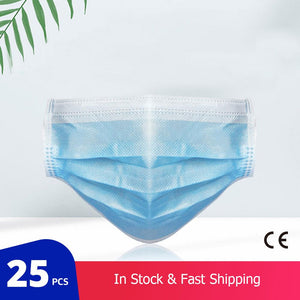 25 pcs/Bag Disposable Medical Mask