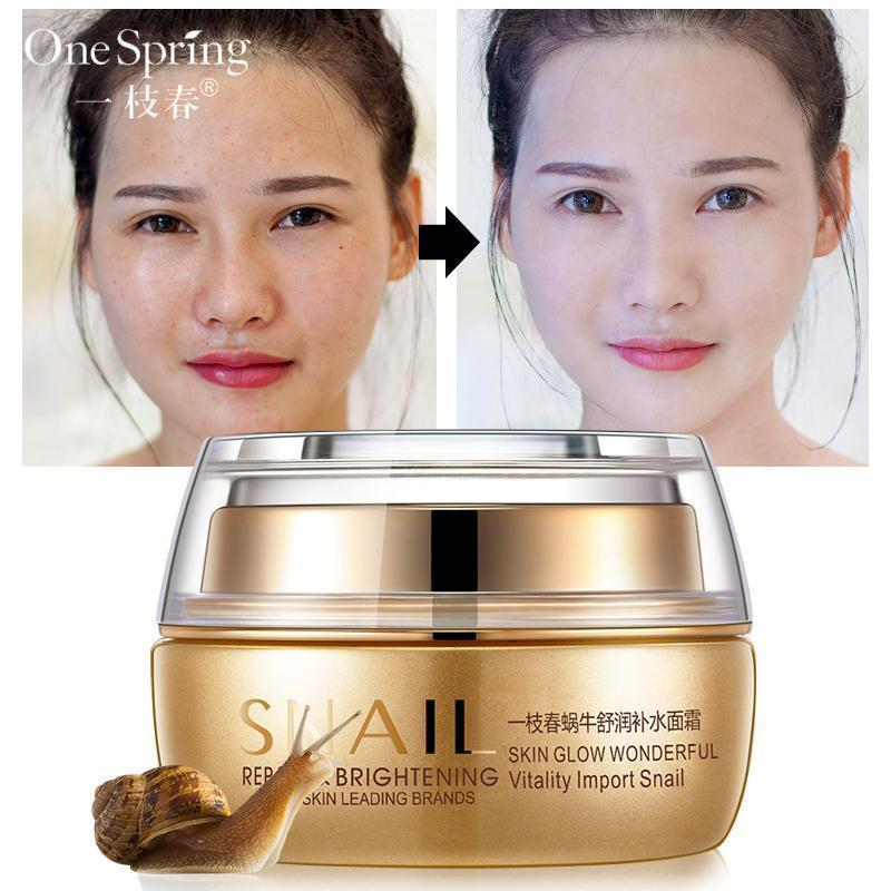 Snail Skin Face Whitening Cream