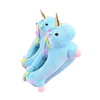 Chaussons Licorne Bleue