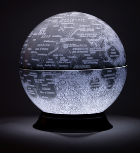 MOON GLOBE - Illuminated