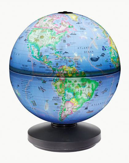 ROTATING GLOBE - Illuminated  AR
