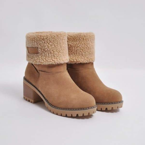 Shoesprit Winter Shoes Fur Warm Snow Boots(Ship In 24 Hours)