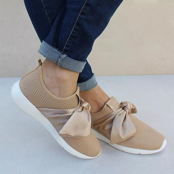 Shoesprit Casual Comfy Bow Sneakers