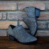Shoesprit Casual Zipper Hollow Out Boots