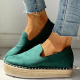 Shoesprit Solid Platform Design Casual Sneakers