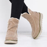 Shoesprit Fur Lining Ankle Snow Boots