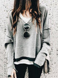 Shoesprit Loose Knitted Baggy Sweater