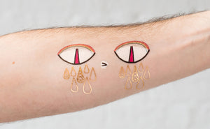 Tattly Hack #237 - Sad Eyes