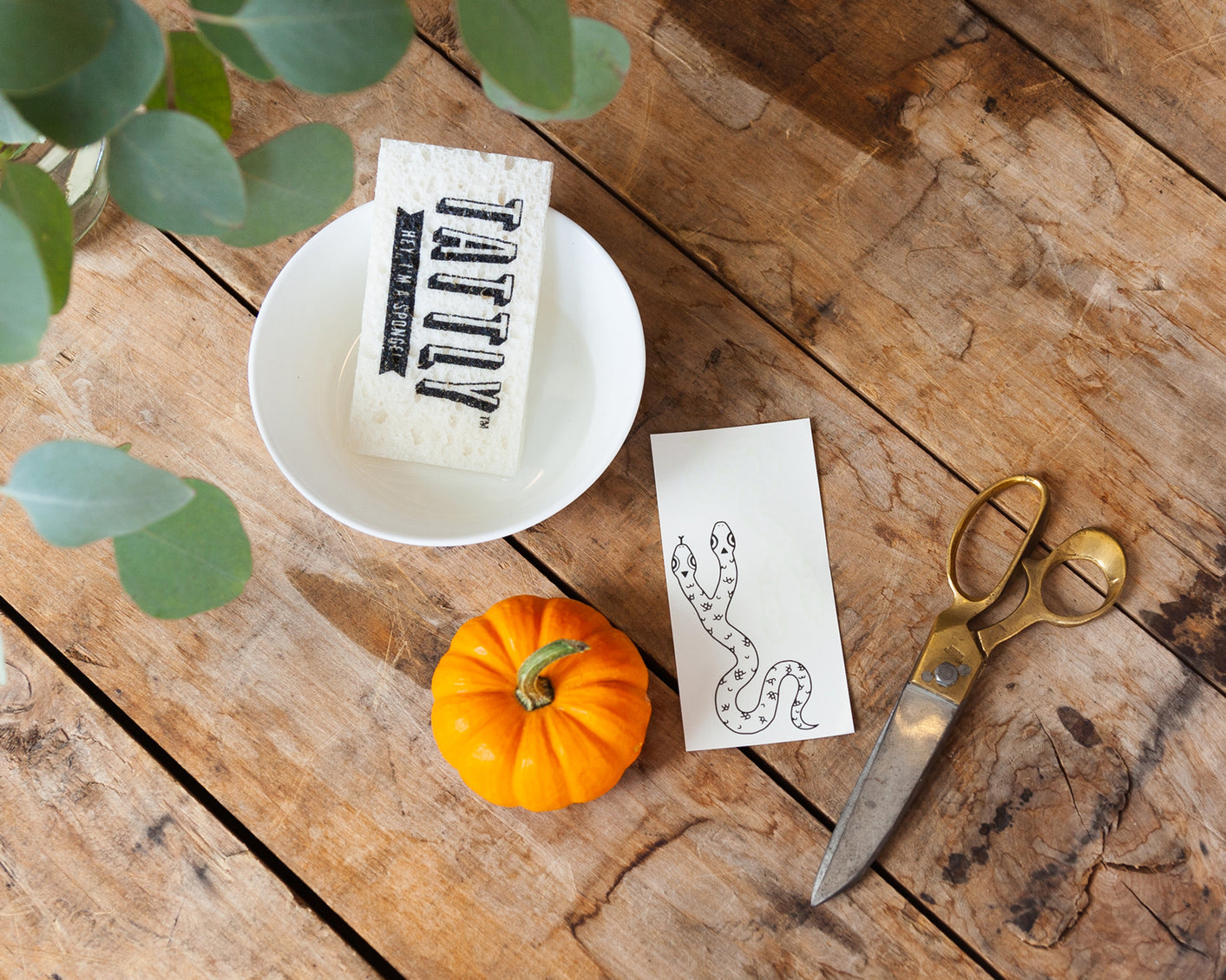 No Carve Tattly Pumpkins!