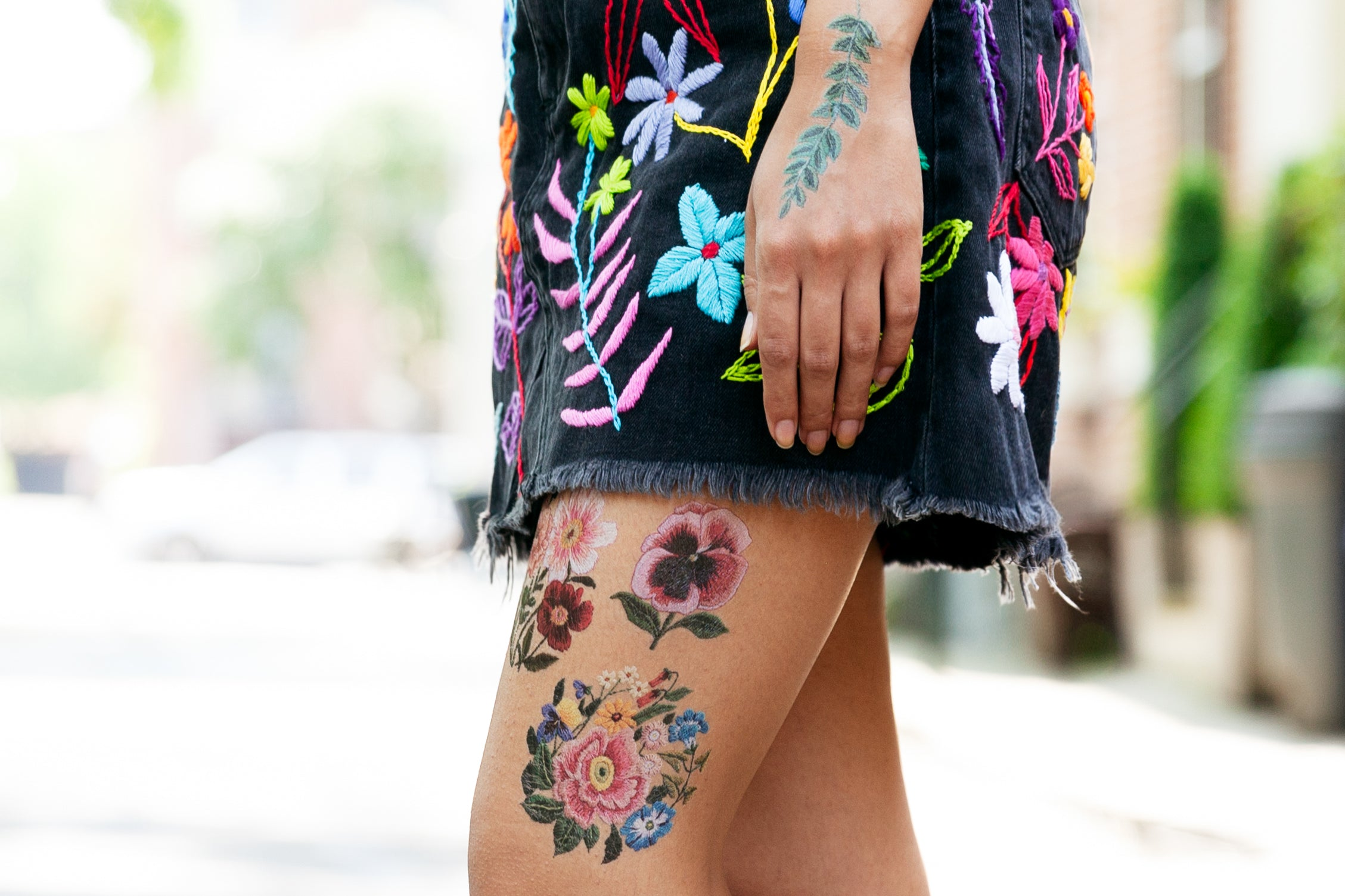Introducing Embroidery Tattly by Tessa Perlow