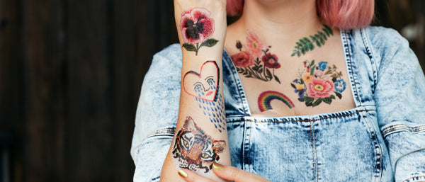 Tattly Temporary Tattoos By Real Artists Tattly