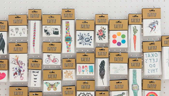 tattly designy temporary tattoos wholesale