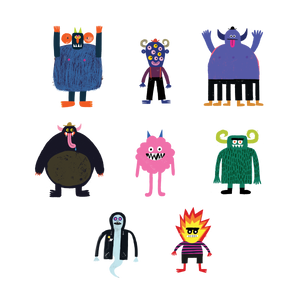 The Spooky Squad Set