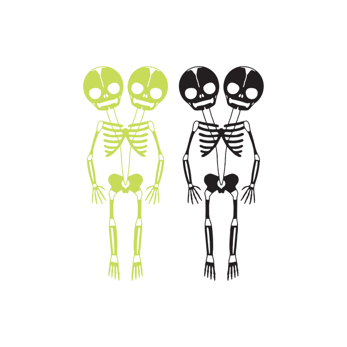 Skeletons (Glow-In-The-Dark)
