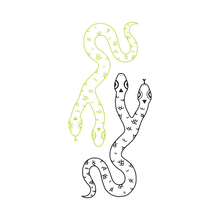 Two Headed Snake (Glow-In-The-Dark)