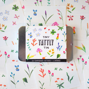 Tiny Imaginary Garden Tin
