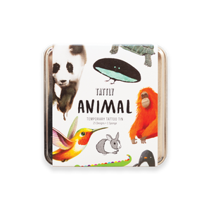 Animal Tattly Tin