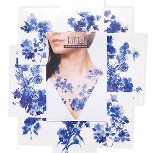 Blue Florals Set