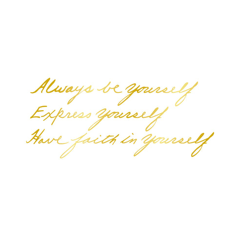 Express Yourself (Gold)