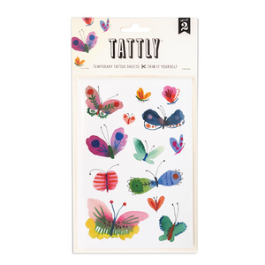 Butterfly Frenzy Sheet