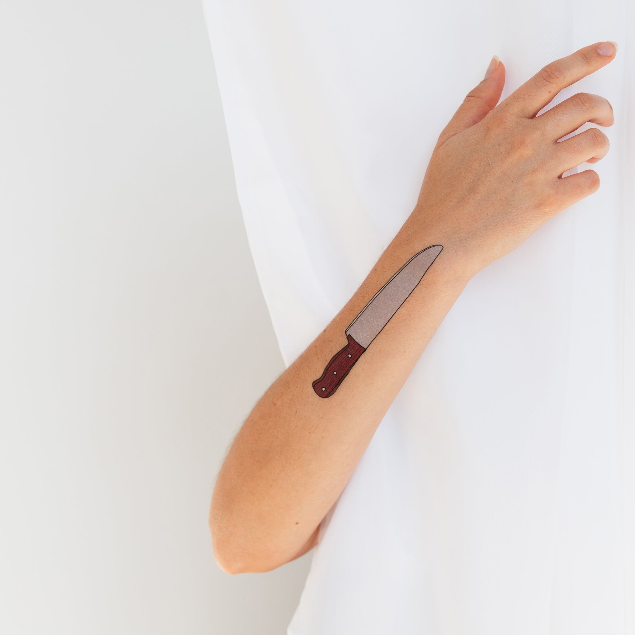 3a3293bdc Chef's Knife by Julia Rothman from Tattly Temporary Tattoos