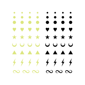 Facial Expressions (Glow-In-The-Dark)