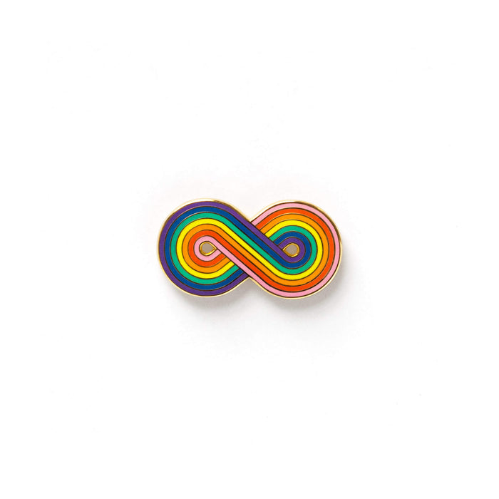 Forever Rainbow Pin