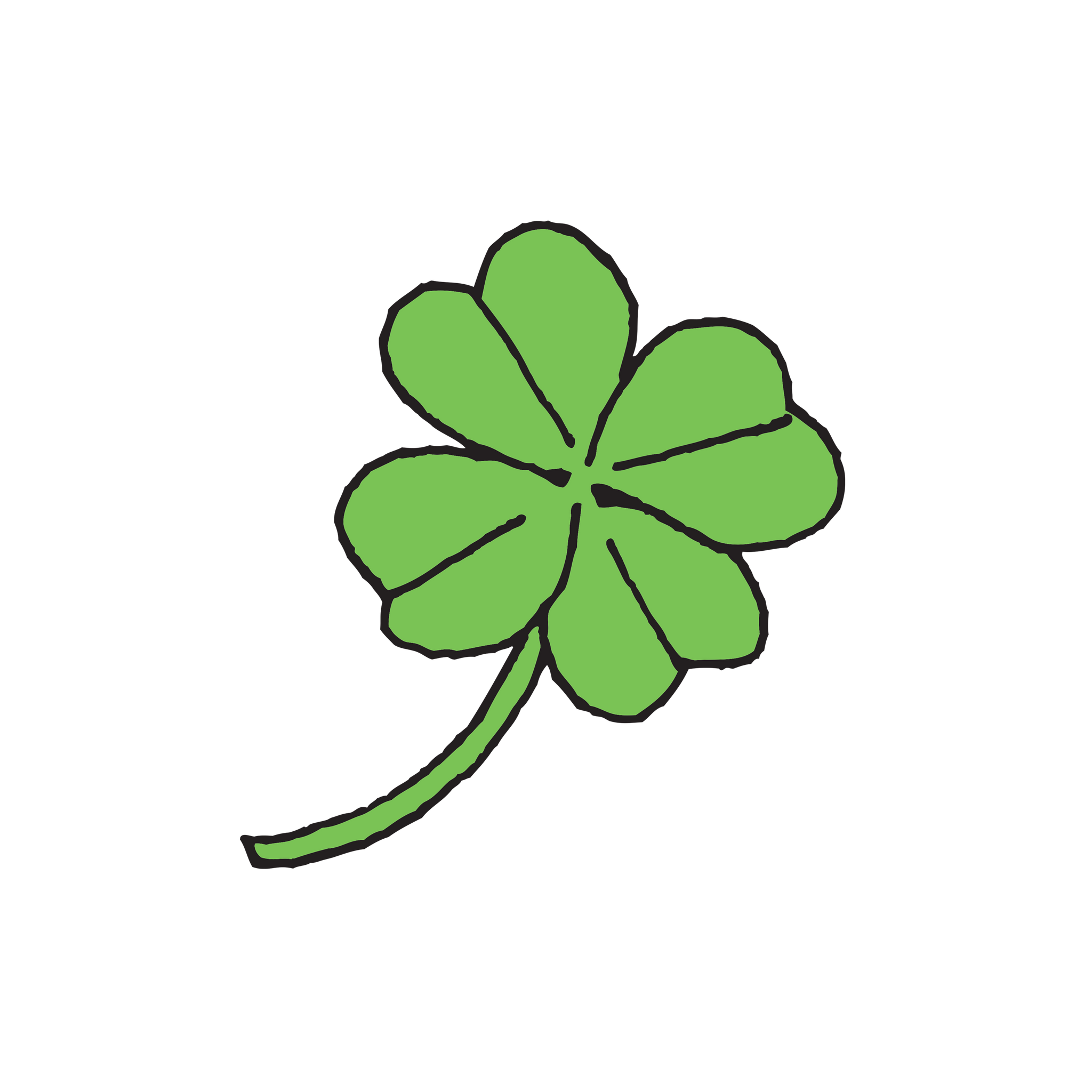 Four Leaf Clover By Julia Rothman From Tattly Temporary Tattoos