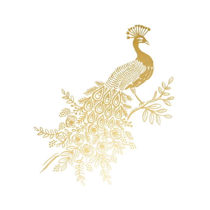 Gold Peacock