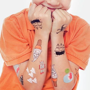 Kids Mix One by Tattly from Tattly Temporary Tattoos