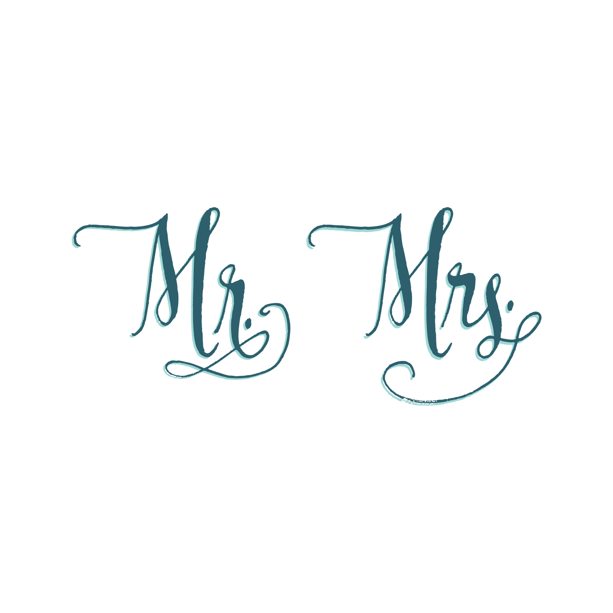 mr and mrs by ladyfingers letterpress from tattly temporary tattoos