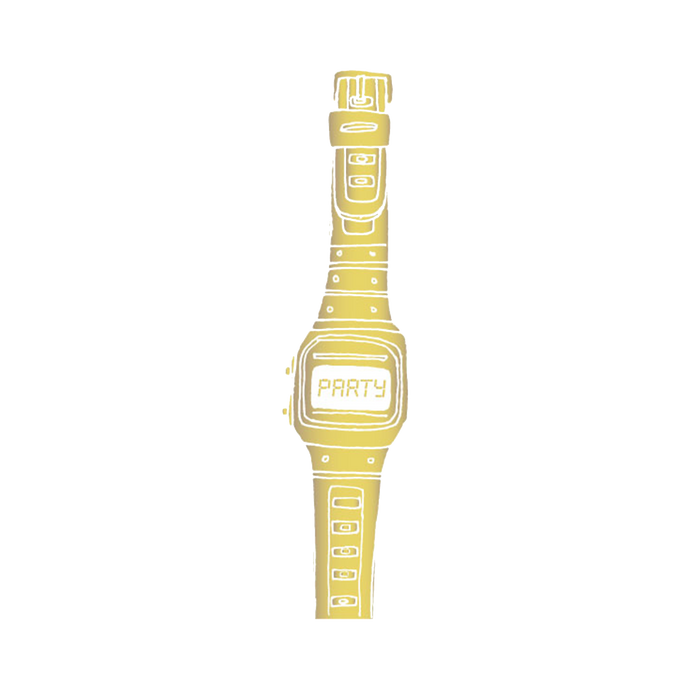 Gold Party Watch