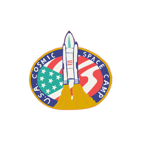 Space Camp Badge
