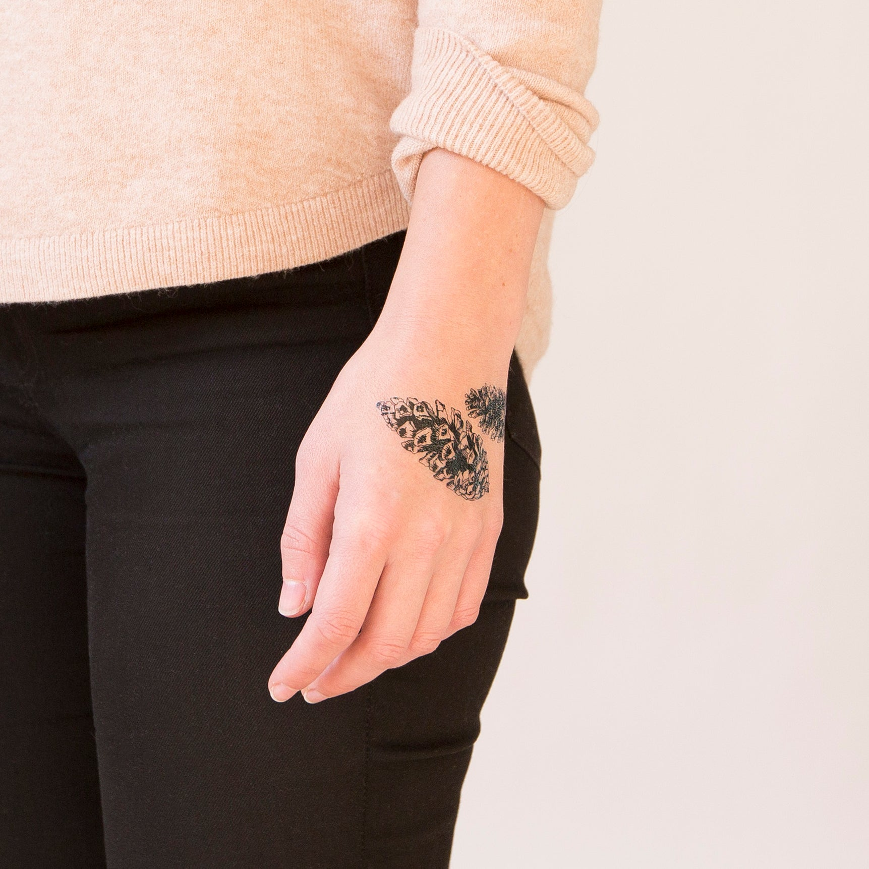 Pinecones By Natasha Lawyer From Tattly Temporary Tattoos