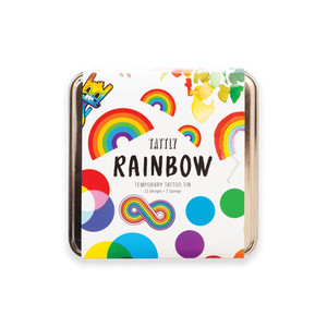Rainbow Tattly Tin