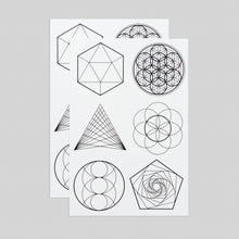 Sacred Geometry Sheet