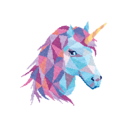 Stitched Unicorn