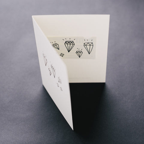 Diamonds (Tattly Card)