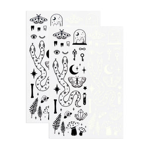 The Curiosities Sheet (Glow-in-the-Dark)