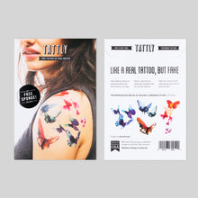 Watercolor Butterflies Set