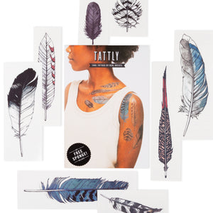 Watercolor Feather Set