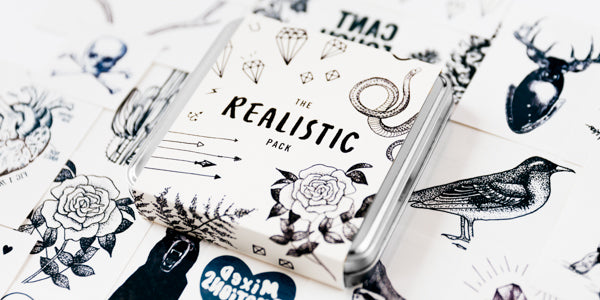 Realistic Tattly Pack