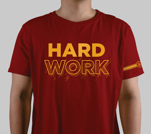 """Hard Work"" Graphic Tee"