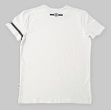 White Fitted Tee