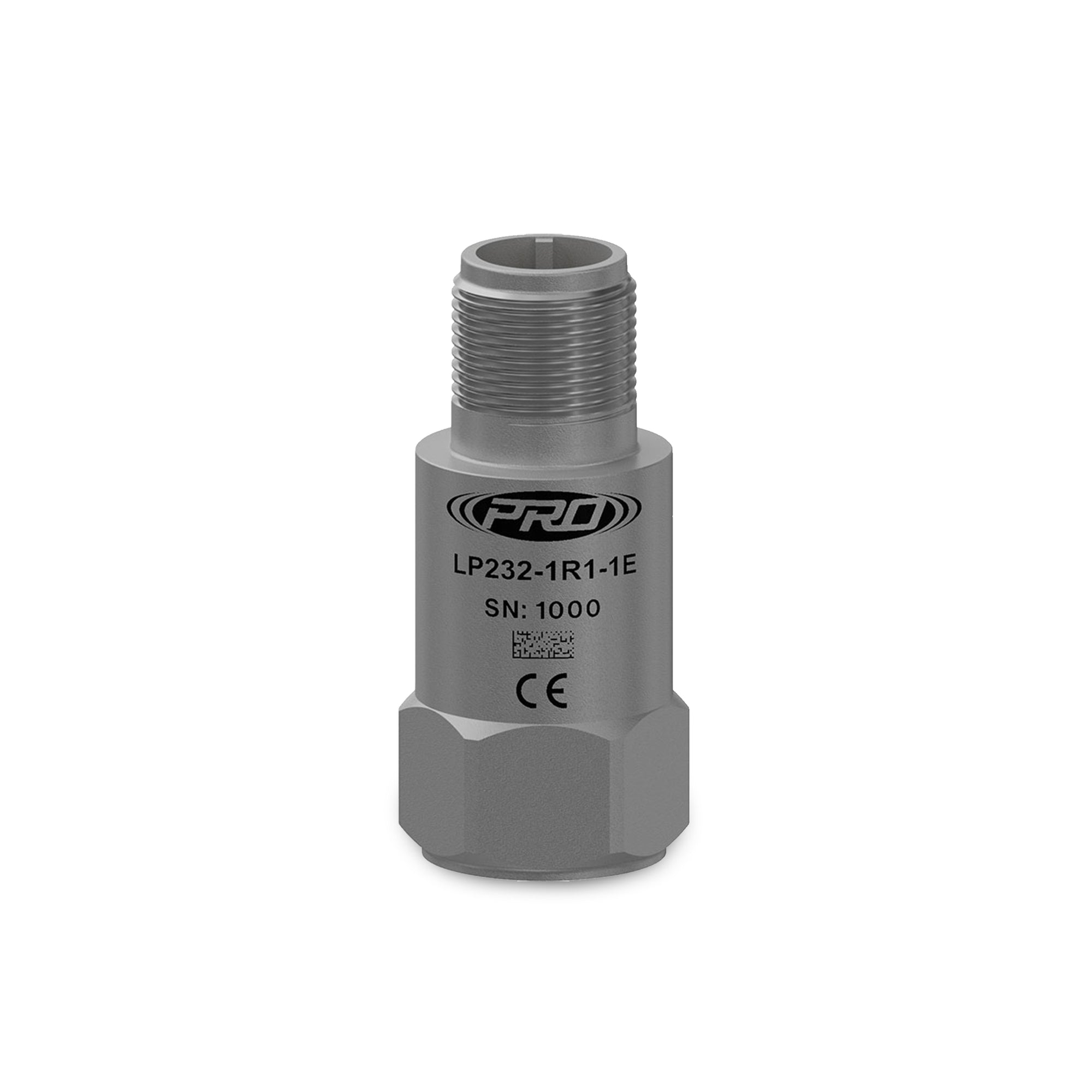 M/LP232-3R1-1E 0-10mm/s FS with temperature output 2.5 to 100°C, 4-20mA vibration transmitter