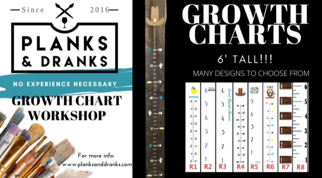 February 21, 2020 @ Riverlakes  6-9:00 pm - 6' Growth Charts