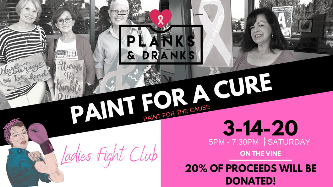 FUNDRAISER - Ladies Fight Club March 14, 2020 @ On the Vine 5-7:30pm