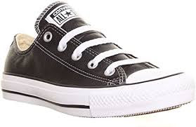 CONVERSE CT LEATHER BLK OX 132174